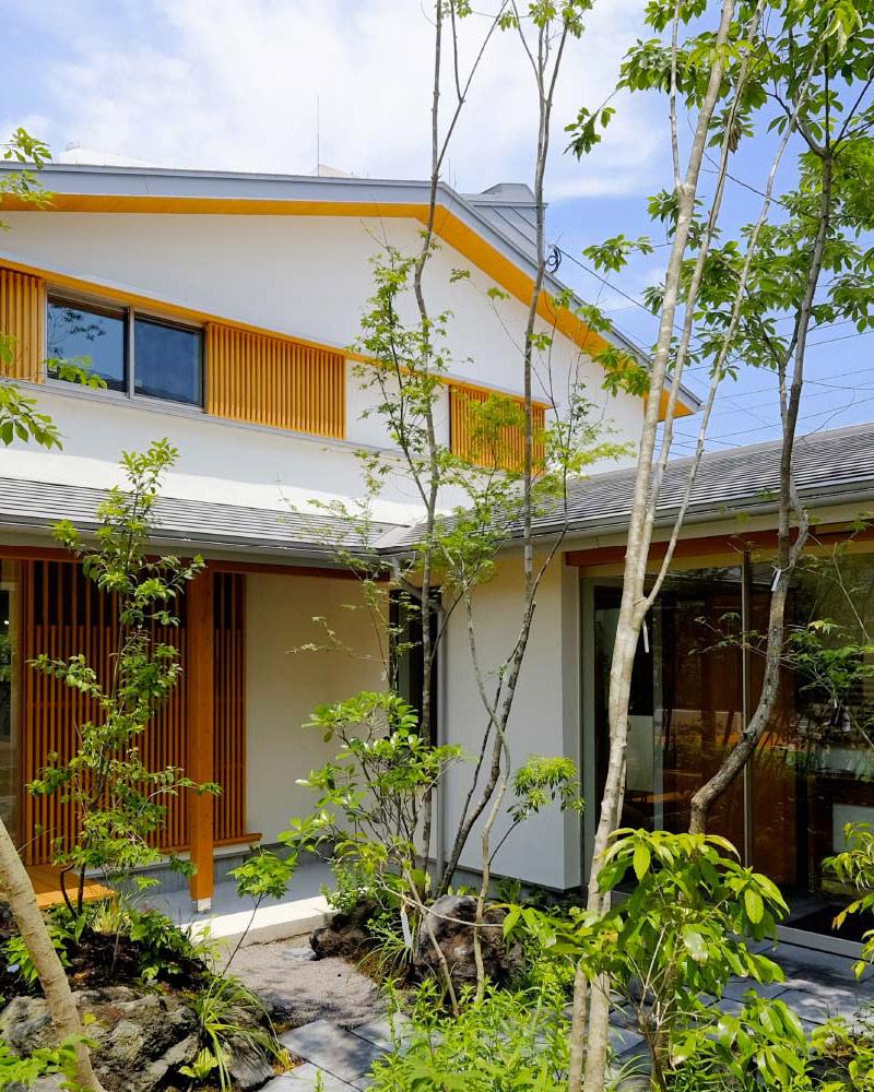 MOOKモデルハウス「繋がる家」外観