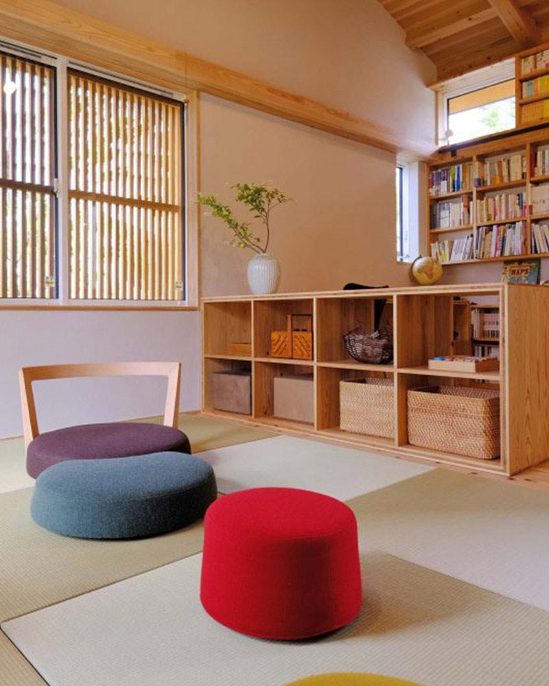 MOOKモデルハウス「繋がる家」畳スペース