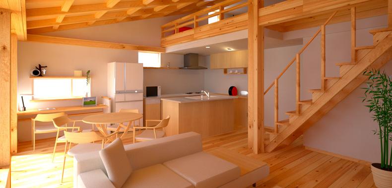 テラスタウン吉野モデルハウスイメージ