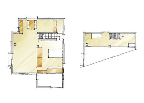 2階・ロフト平面図
